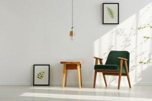 Natural Light - Green and Cream - Interior Design