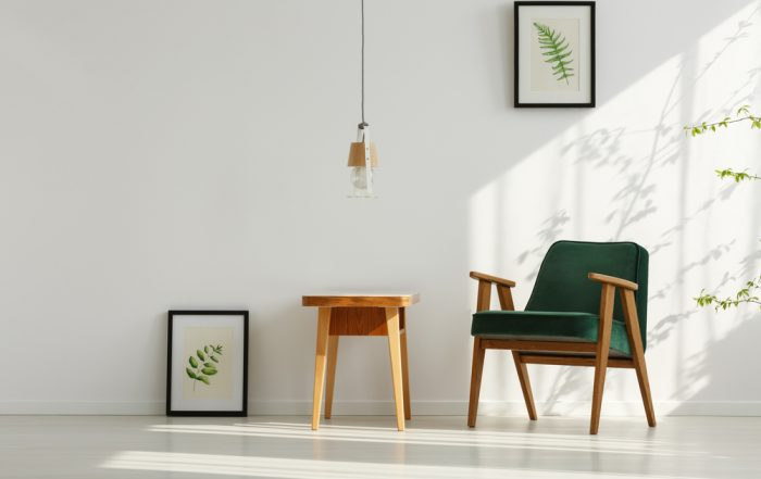 Natural Light - Green and Cream - Interior Design